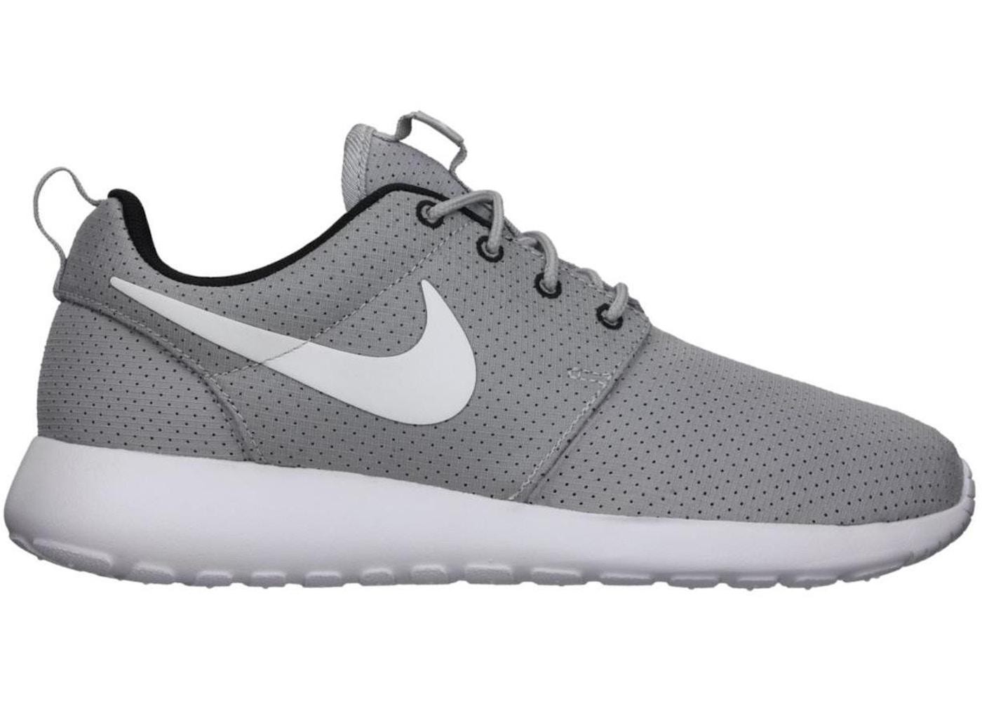97d329c1da25 Nike Roshe Run Wolf Grey White (GS) - 511882-091