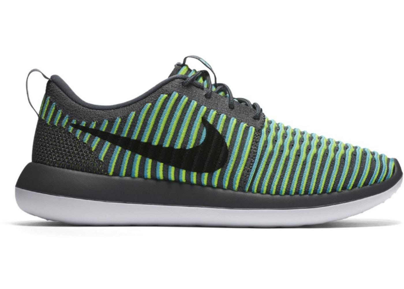 90f67bbd723dc Nike Roshe Two Flyknit Gamma Blue - 844833-004