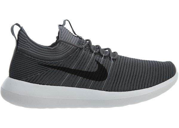 lowest price 5899c 34d88 Nike Roshe Two Flyknit V2 Dark Grey Black-Cool Grey