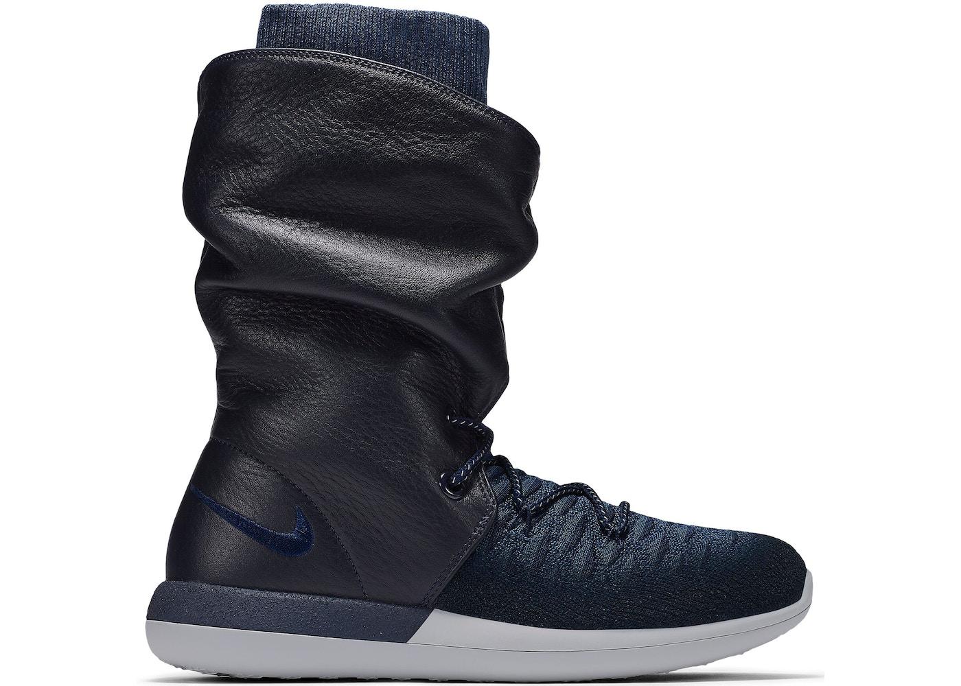 pretty nice bf8b4 75e0e Nike Roshe Two Hi Flyknit College Navy (W) - 861708-400