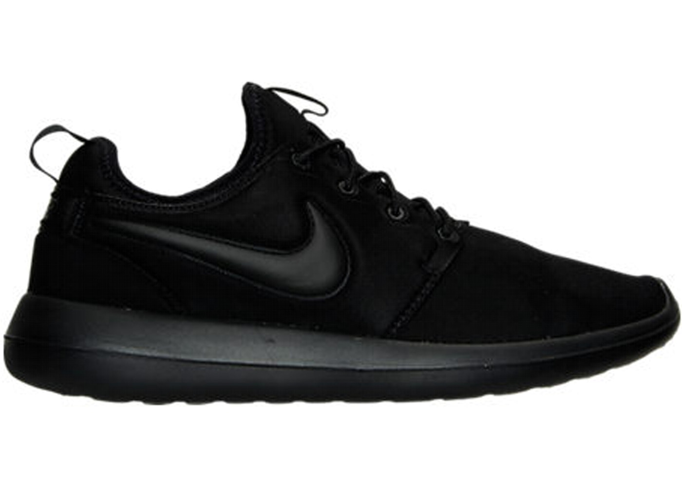 MEN'S NIKE ROSHE TWO 844656 001 BLACK/BLACK-BLACK DEADSTOCK BRAND NEW