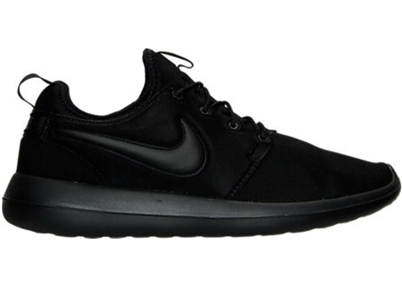 reputable site dd9b4 12b33 Nike Roshe Two Triple Black — HypeAnalyzer