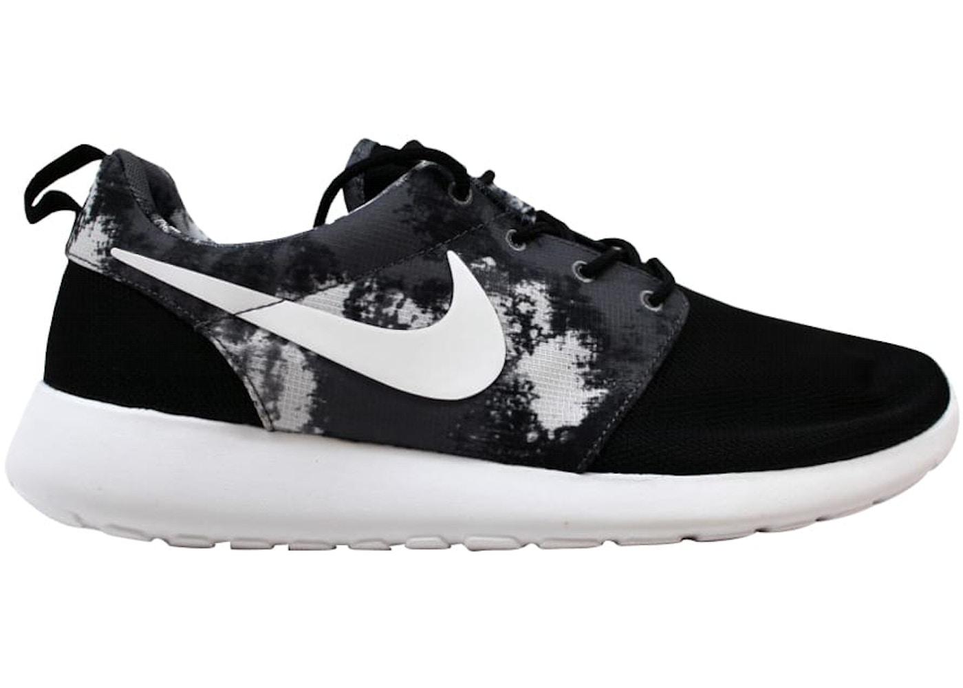 277881bf8ea2 Nike Rosherun Print Black White-Cool Grey (W) - 599432-010