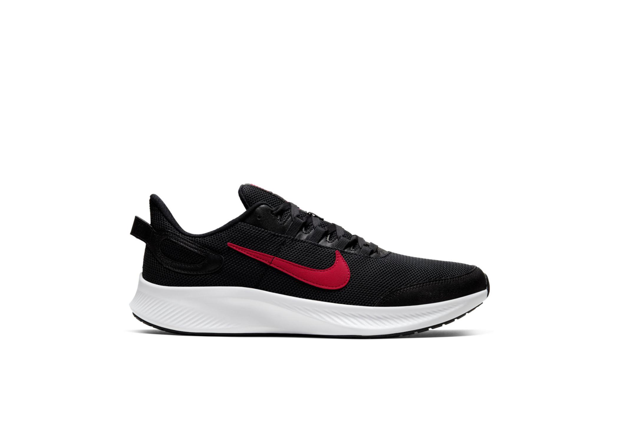 Nike Run All Day 2 Black University Red