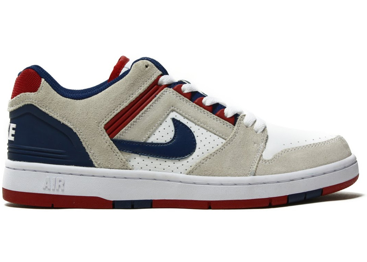 aabff05f8fef Nike SB Air Force 2 Low 76ers - AO0300-100