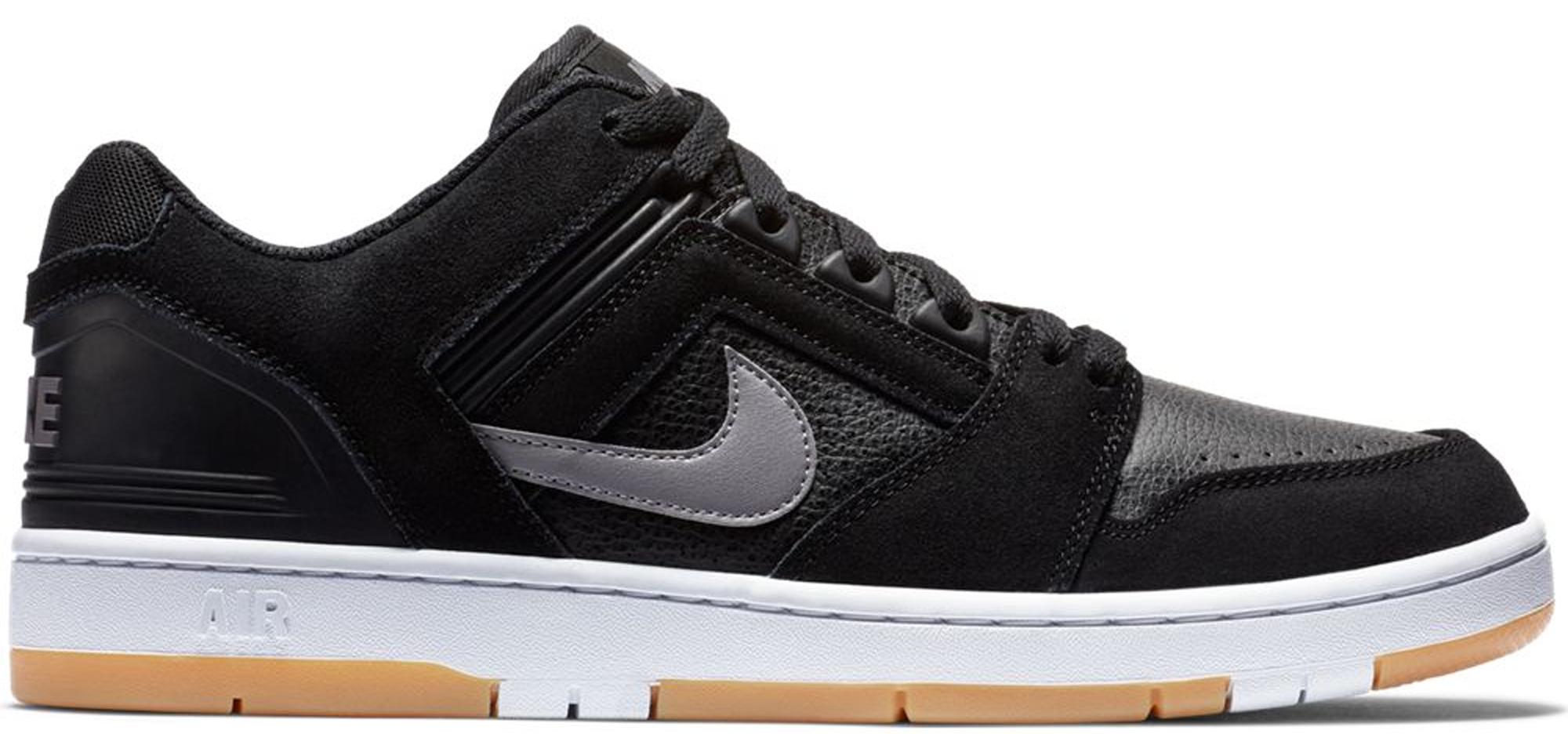 Nike SB Air Force 2 Low Black Grey Gum