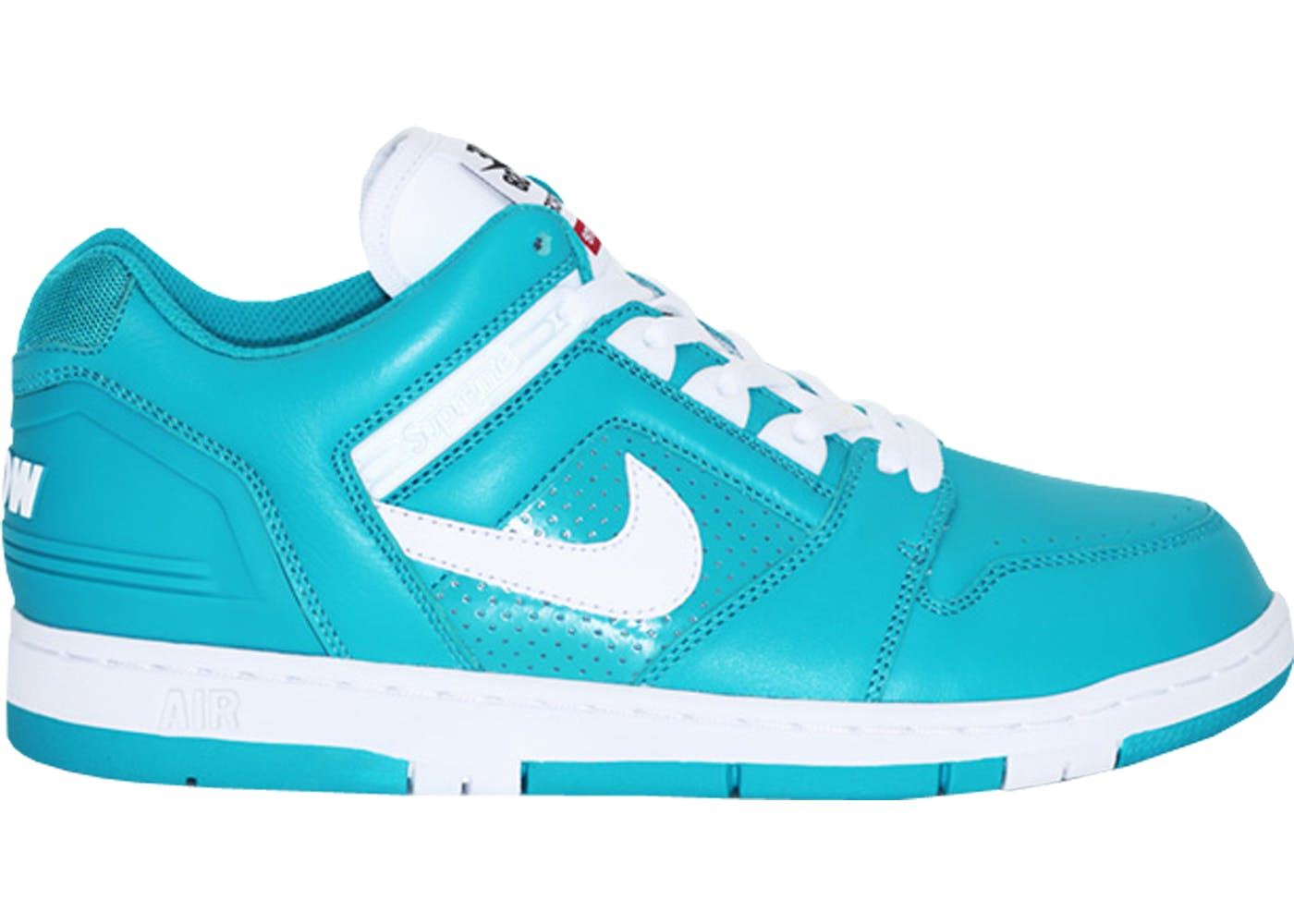 nike sb air force 2 low supreme blue. Black Bedroom Furniture Sets. Home Design Ideas