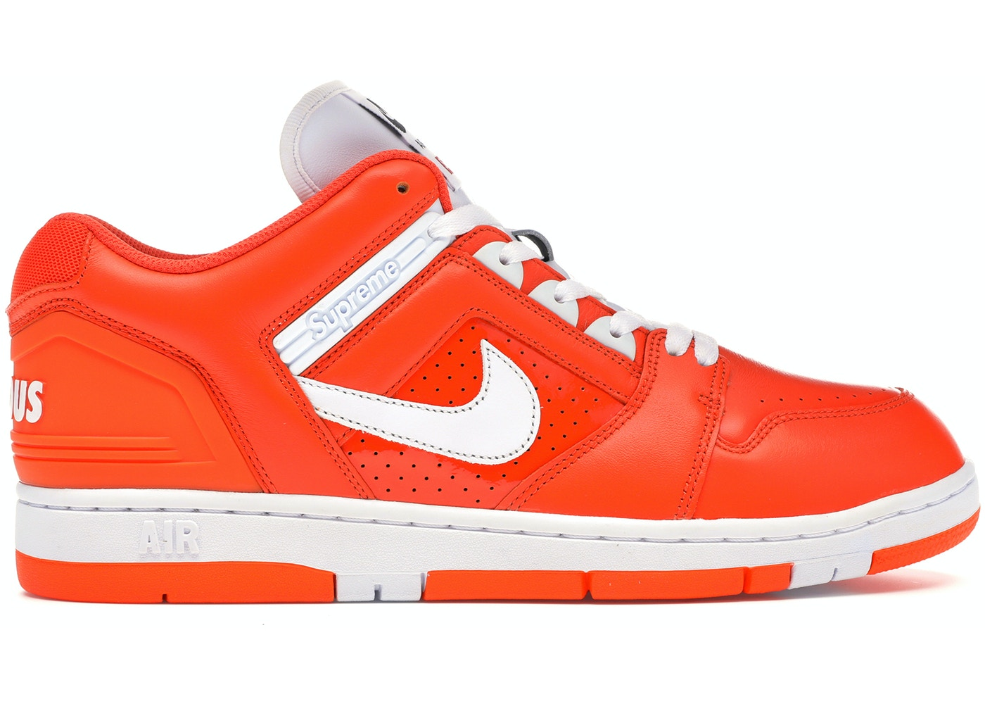 1402977bba57 Nike SB Air Force 2 Low Supreme Orange - AA0871-818