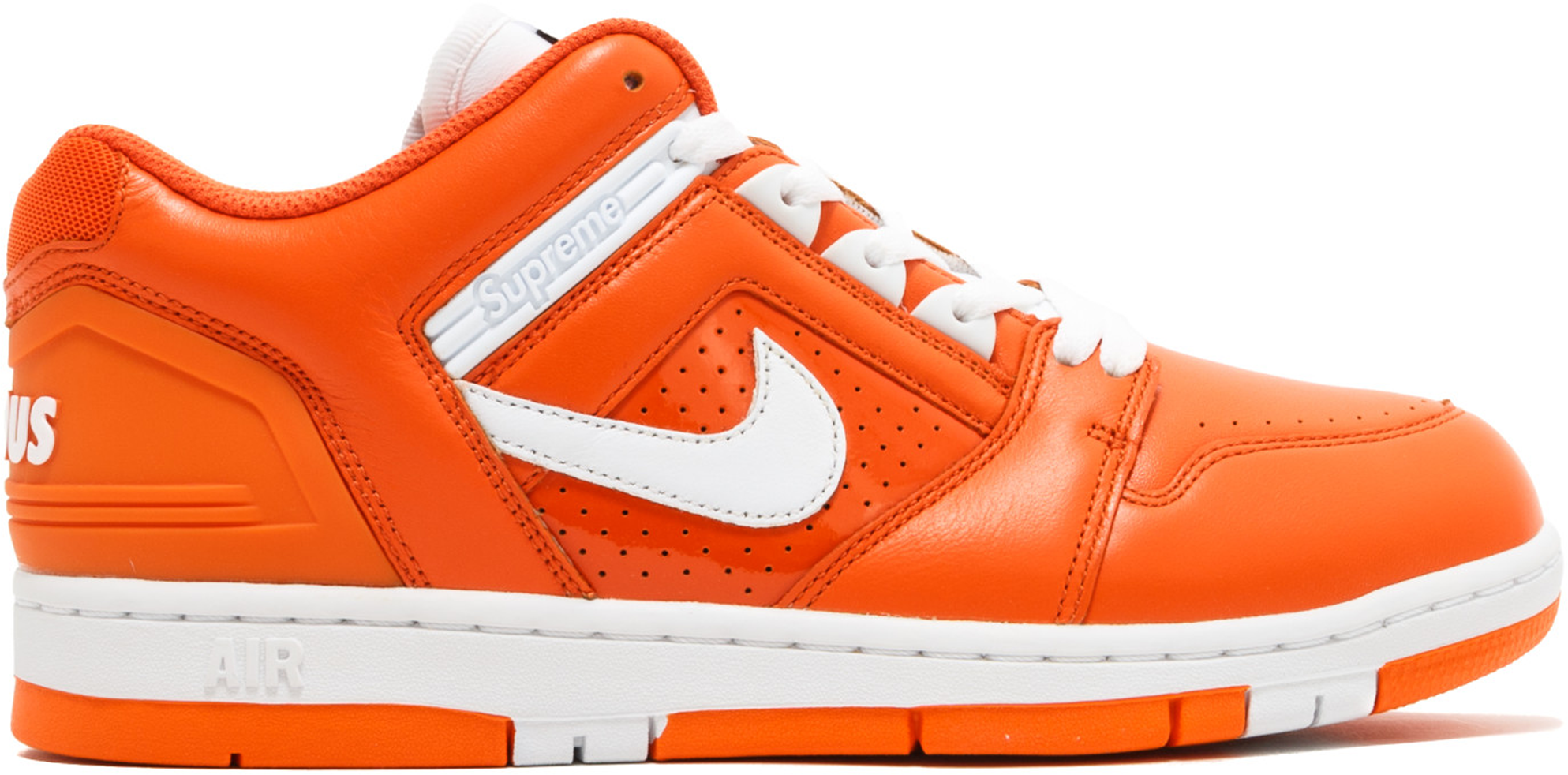 Nike SB Air Force 2 Low Supreme Orange