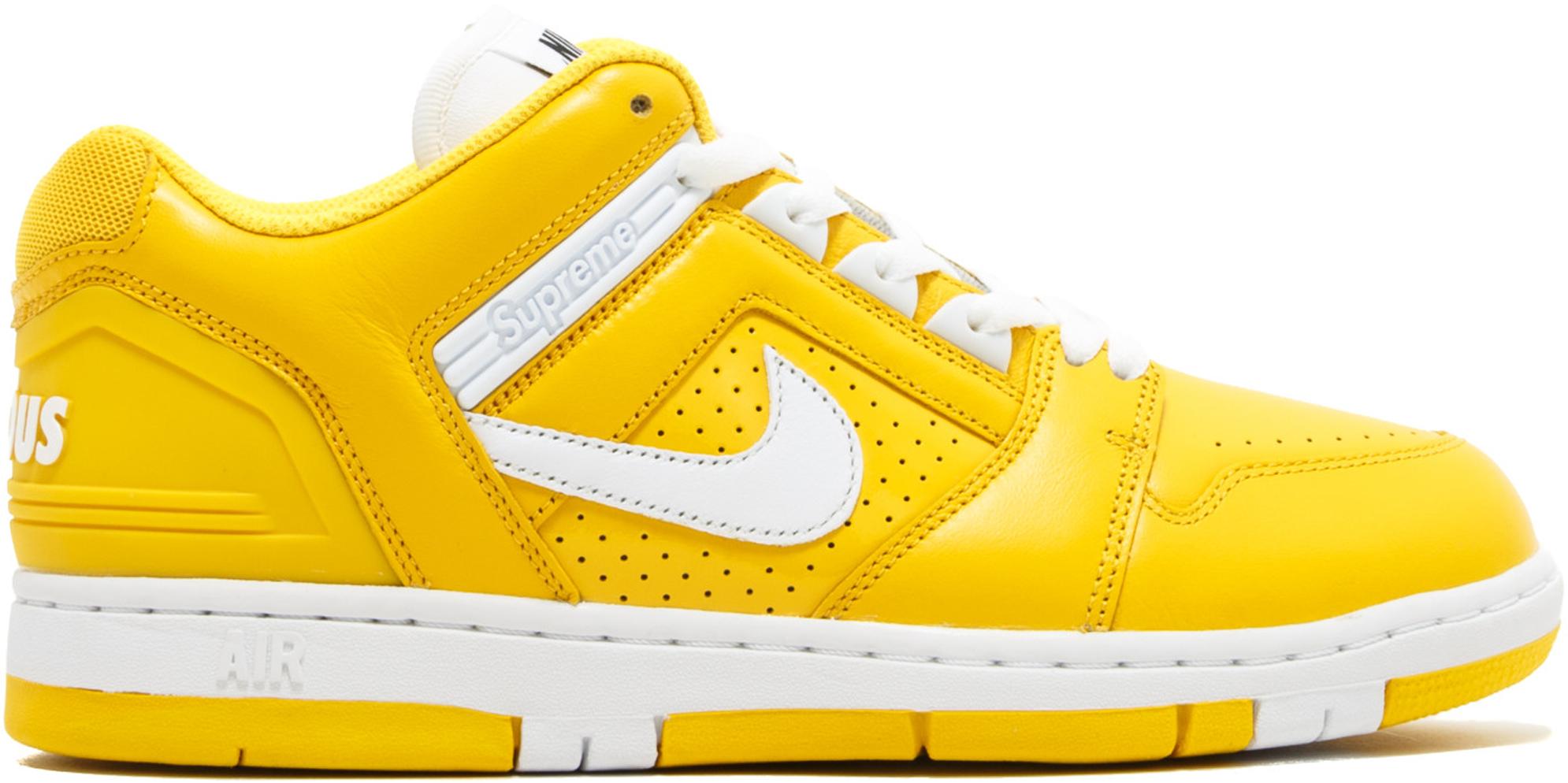 Nike SB Air Force 2 Low Supreme Yellow