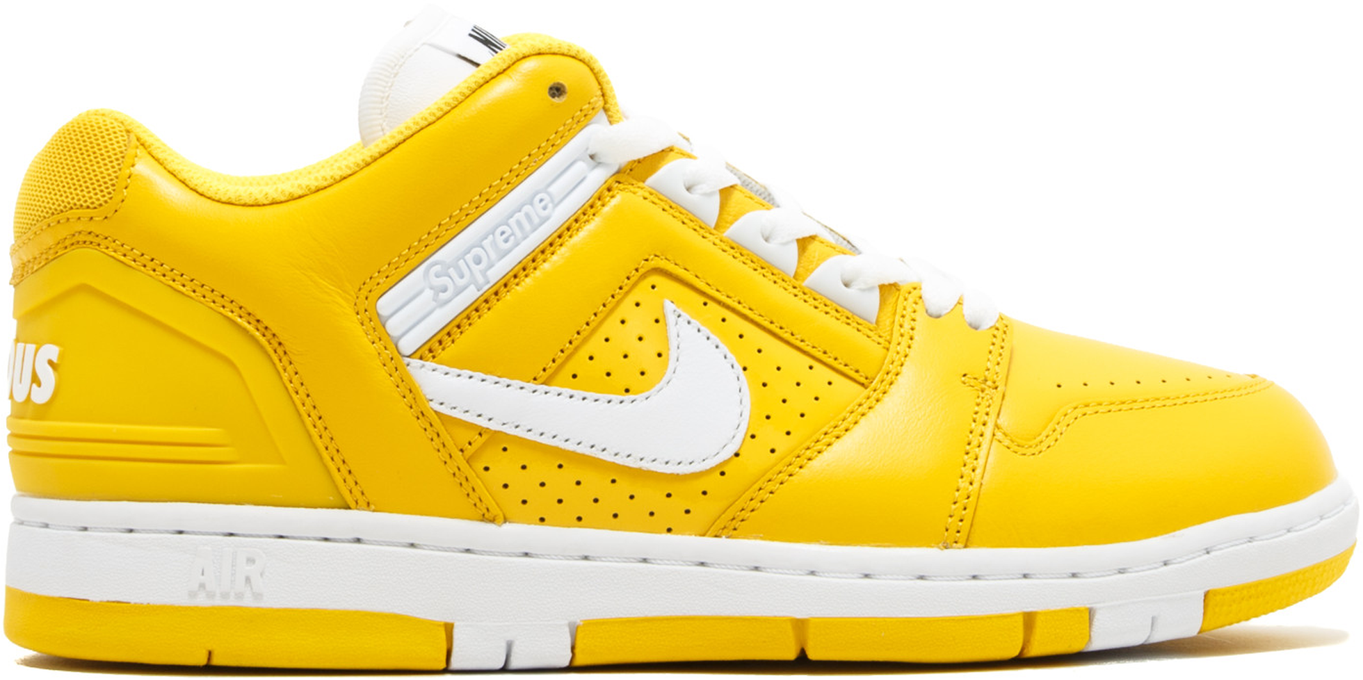 Nike SB Air Force 2 Low Supreme Yellow