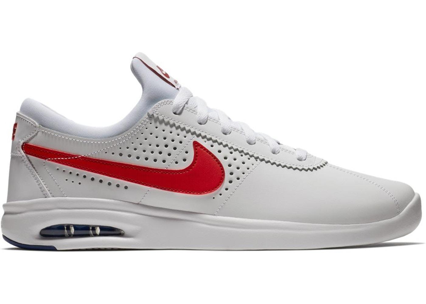 globo conductor Repegar  Nike SB Air Max Bruin Vapor White Red - 882097-100