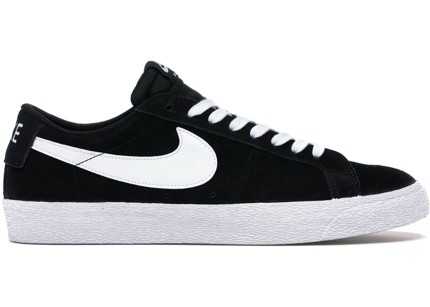 purchase cheap 1d779 201d5 Nike SB Blazer Low Black White