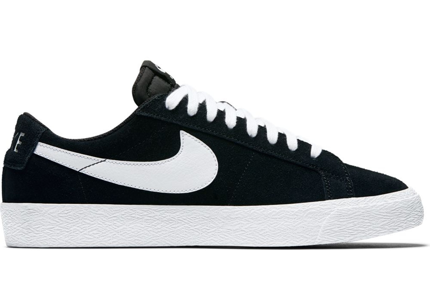 purchase cheap 77fdd 89929 Nike SB Blazer Low Black White