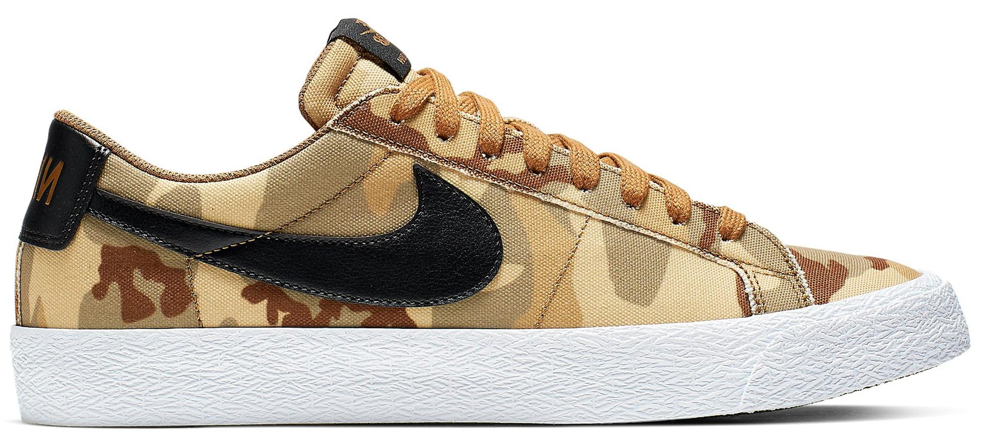 Nike SB Blazer Low Canvas Desert Camo