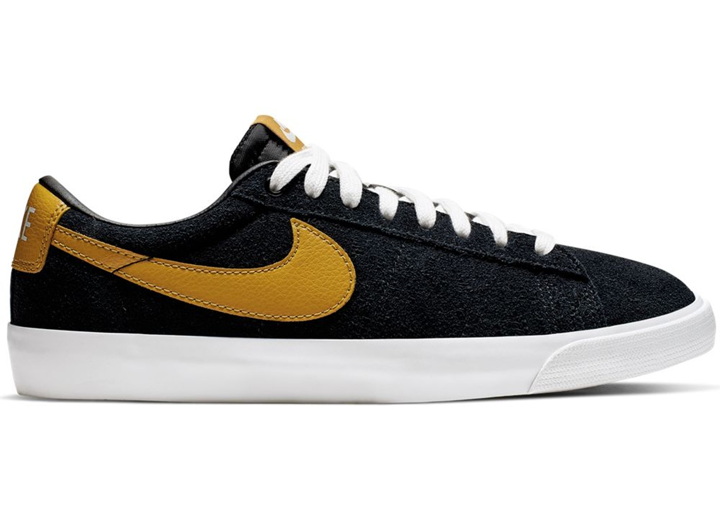 premium selection bb21a f192f Nike SB Blazer Low GT Black Wheat White