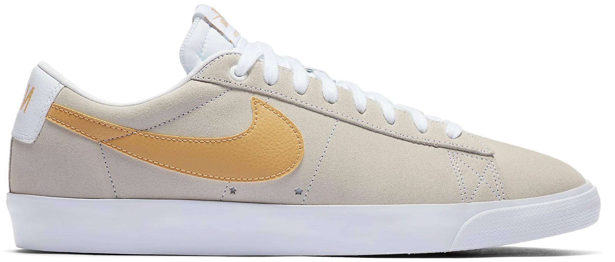 Nike SB Blazer Low GT Grey Yellow
