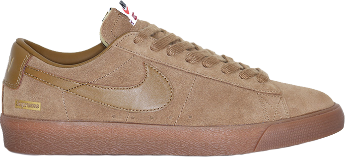 nike sb blazer low supreme