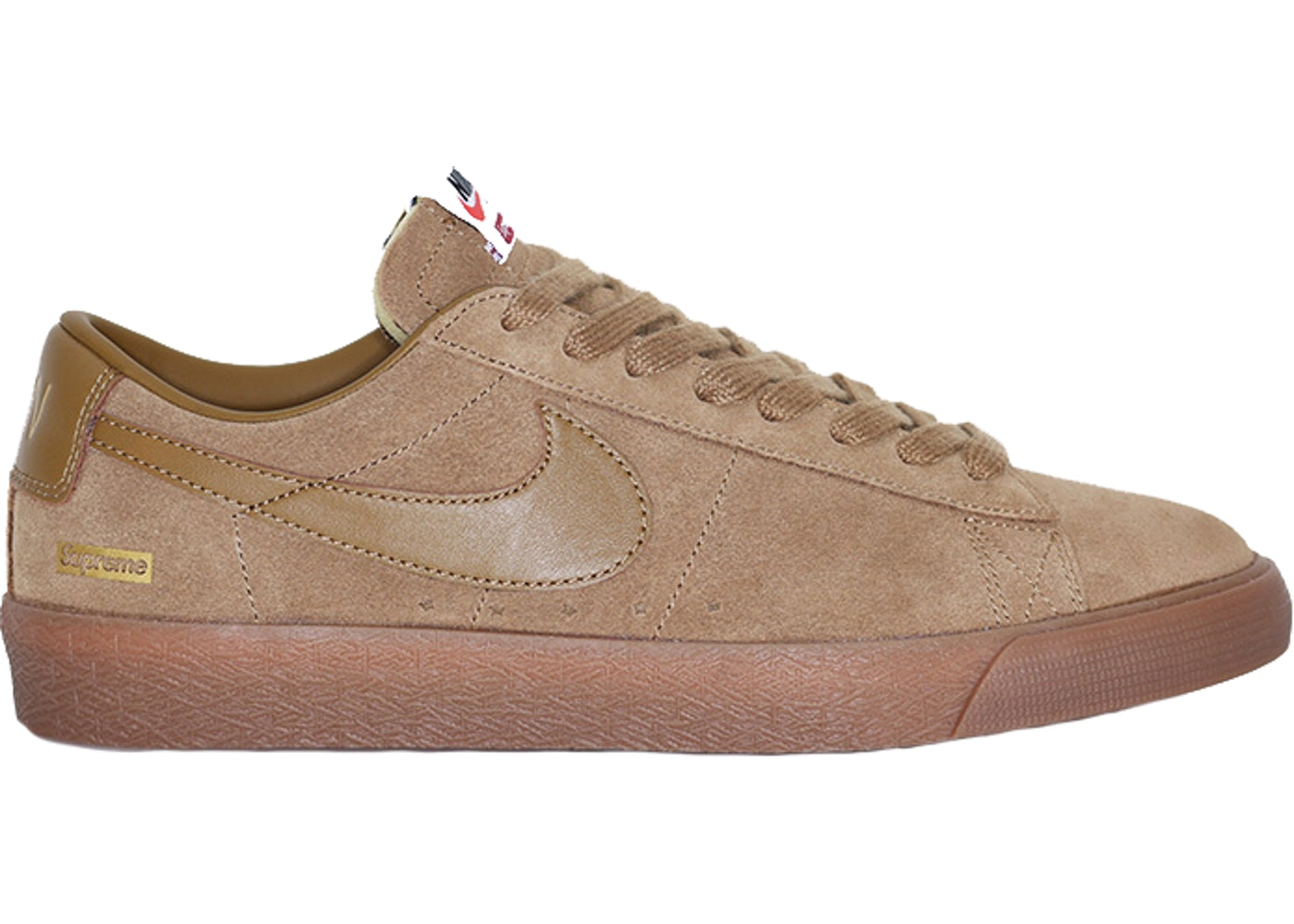 Nike SB Blazer Low GT Supreme Golden Beige