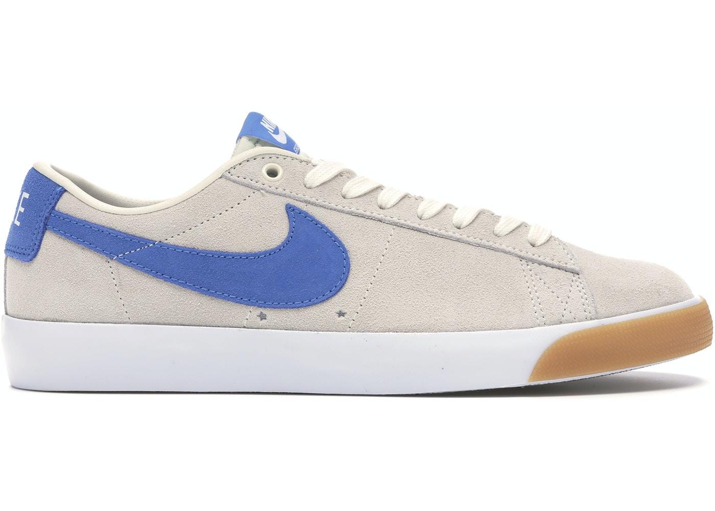 levantar revolución Más lejano  Nike SB Blazer Low Pale Ivory Pacific Blue - 704939-103