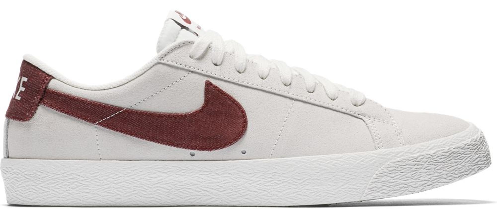 Nike SB Blazer Low Summit White Dark