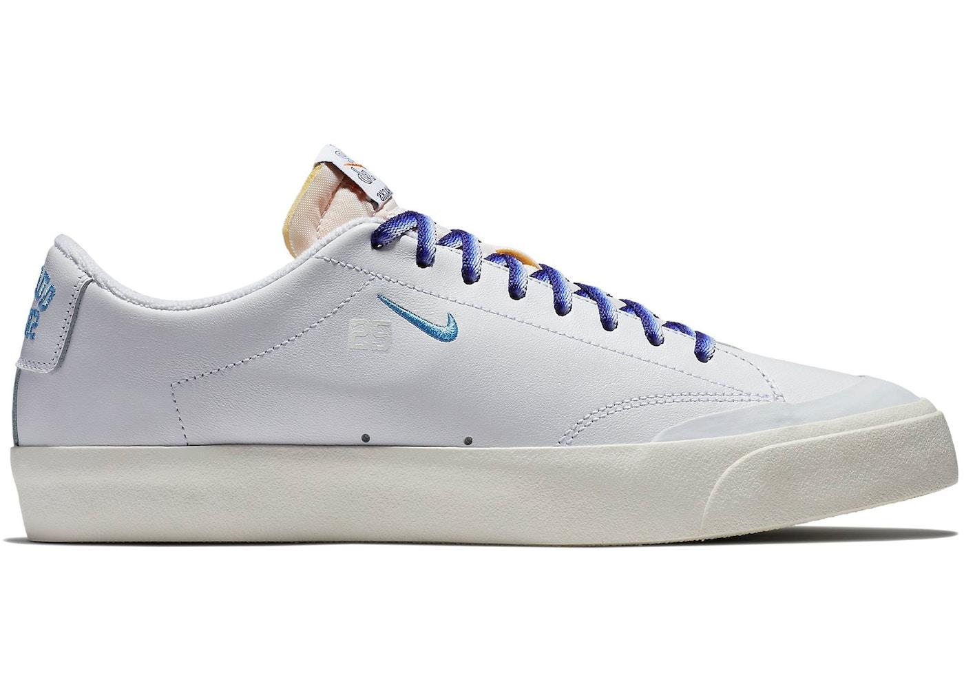 buy online a0023 3257f Nike SB Blazer Low XT Quartersnacks White