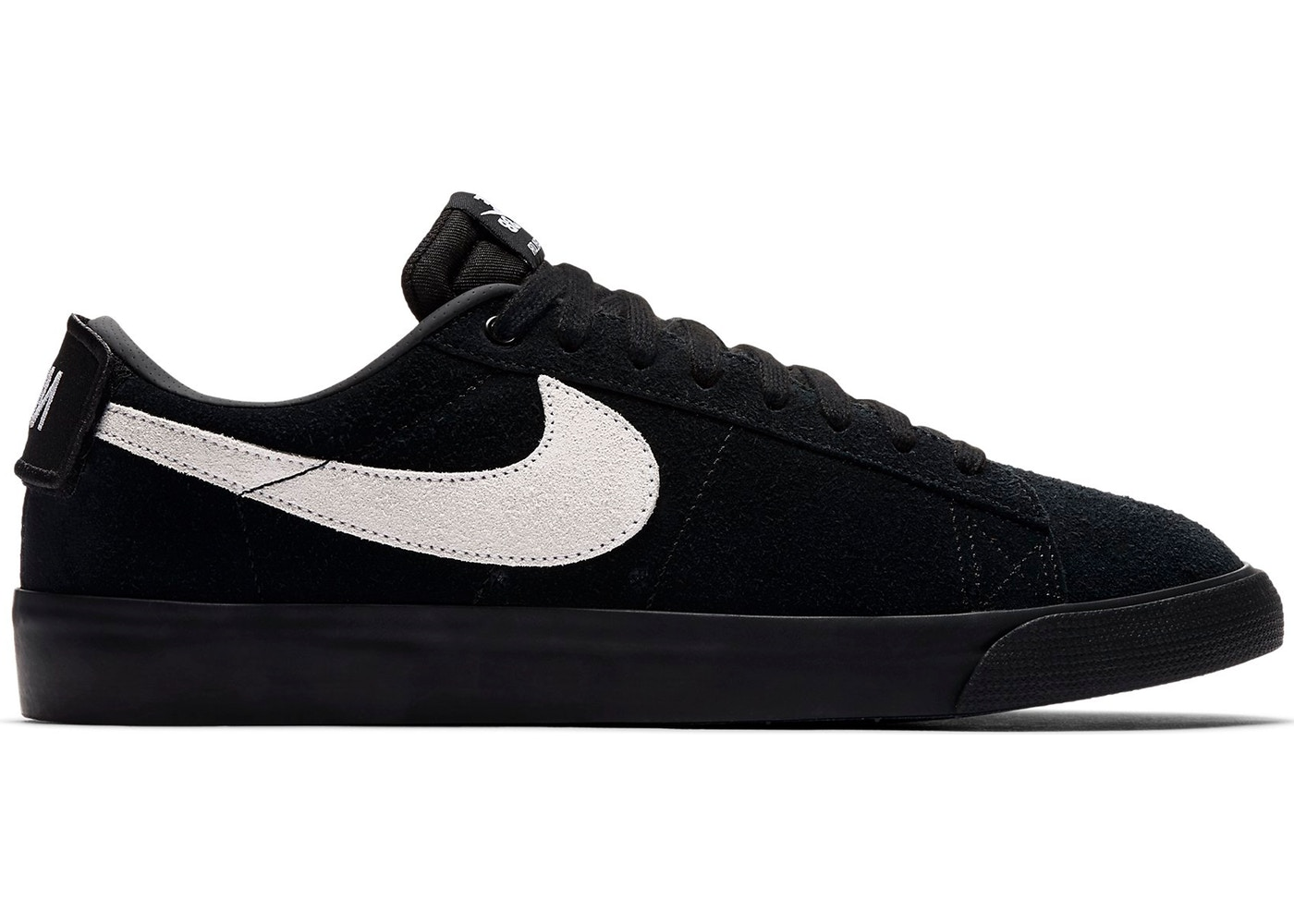 new style 4ba43 613ae Nike SB Blazer Zoom Low GT Black White - 943849-010