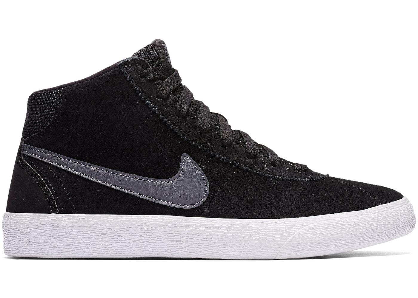 Nike SB Bruin High Black Dark Grey (W) 0ec2af910