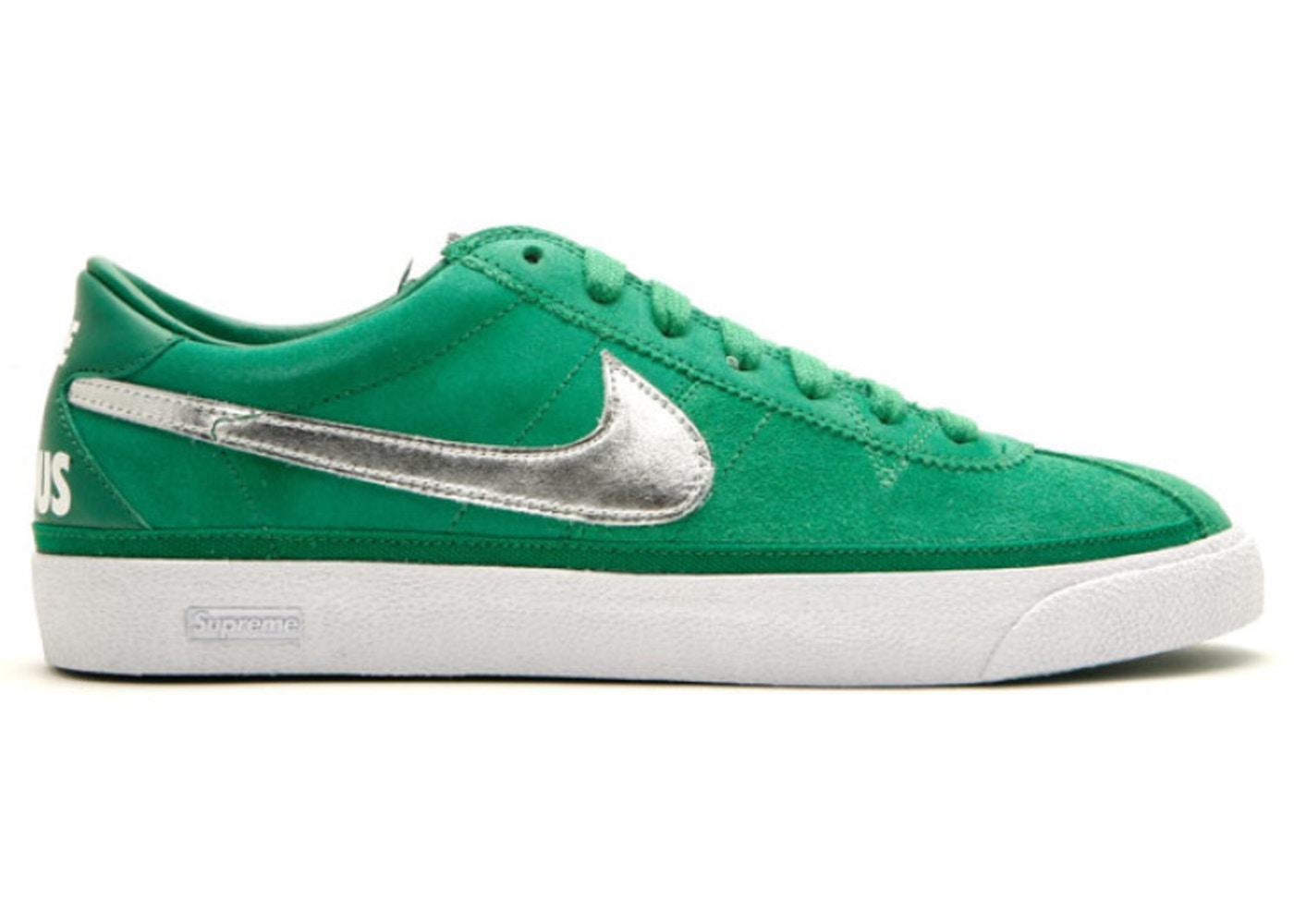 Nike SB Bruin Supreme Pine Green Sneakers (Pine Green/White)