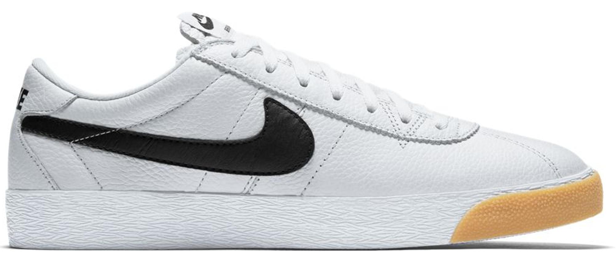 Nike SB Bruin White Black Gum - 877045-101
