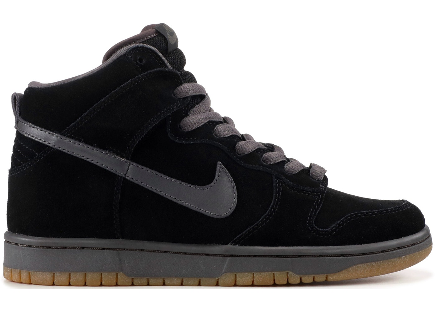 22c3e7dd83132 Nike SB Dunk High Black Midnight Fog - 305050-002