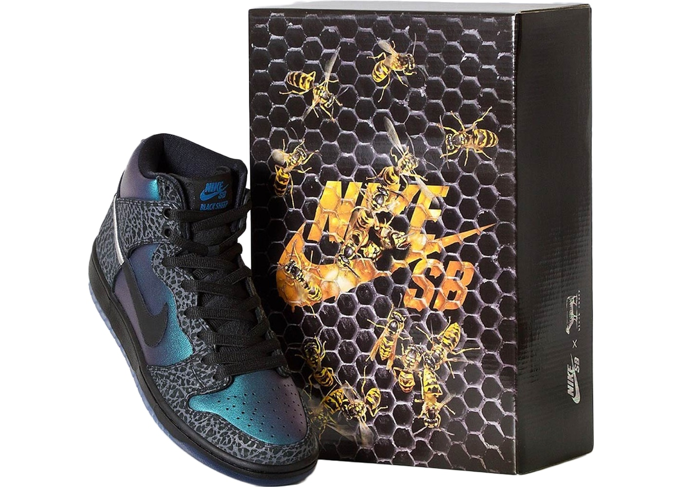 Nike SB Dunk High Black Sheep Hornet (Special Box No Accessories)