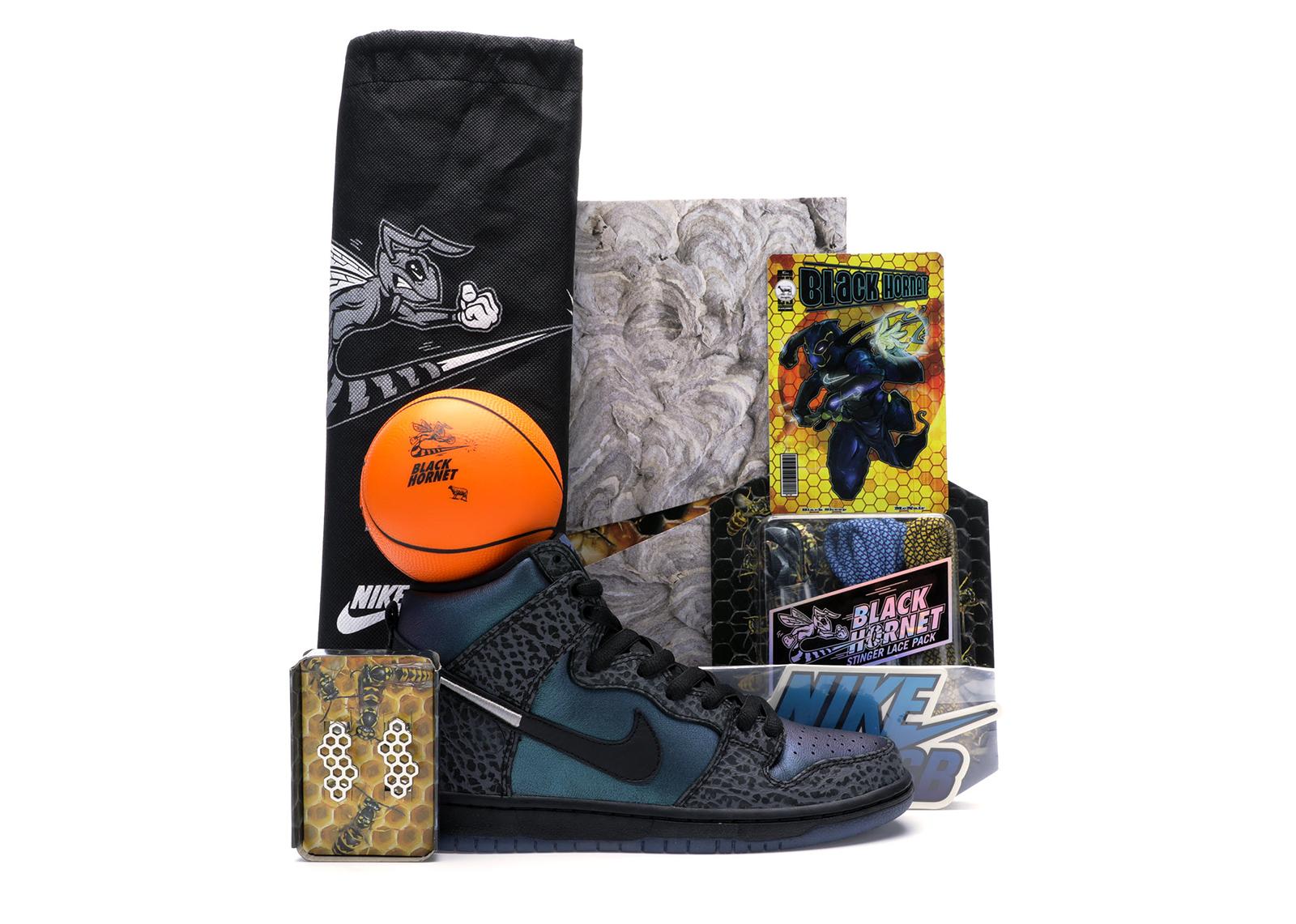 Nike SB Dunk High Black Sheep Hornet