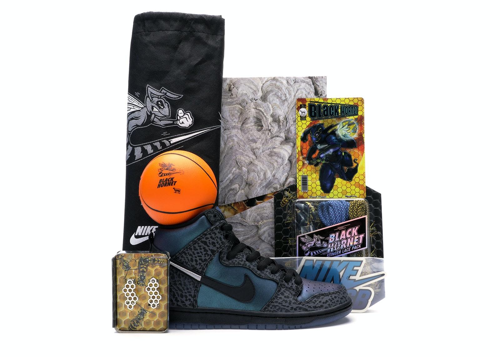 Nike SB Dunk High Black Sheep Hornet (Special Packaging)