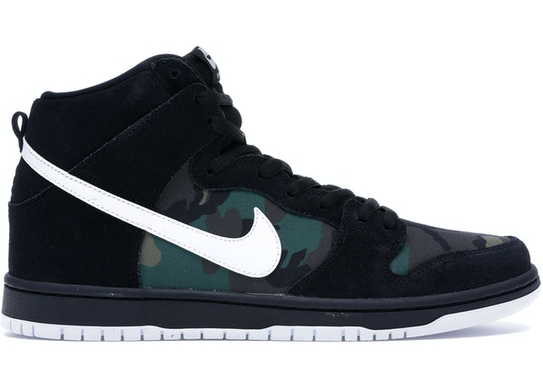 low priced e203e ebd2b Nike SB Dunk High Camo