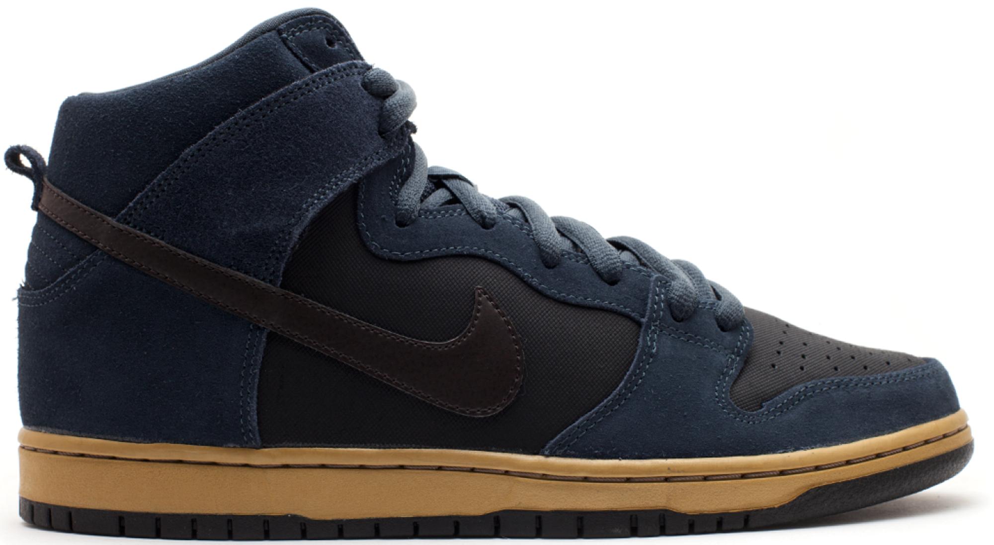 Nike SB Dunk High Classic Charcoal Tar