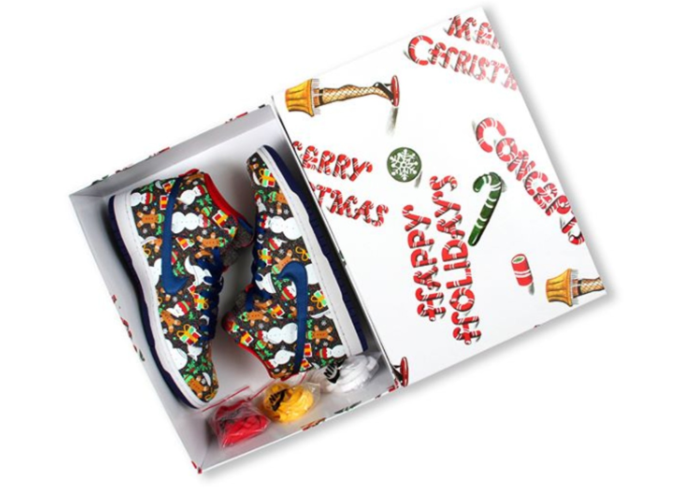 hot sale online e2b01 573d8 Nike SB Dunk High Concepts Ugly Christmas Sweater (2017) (Special Box)