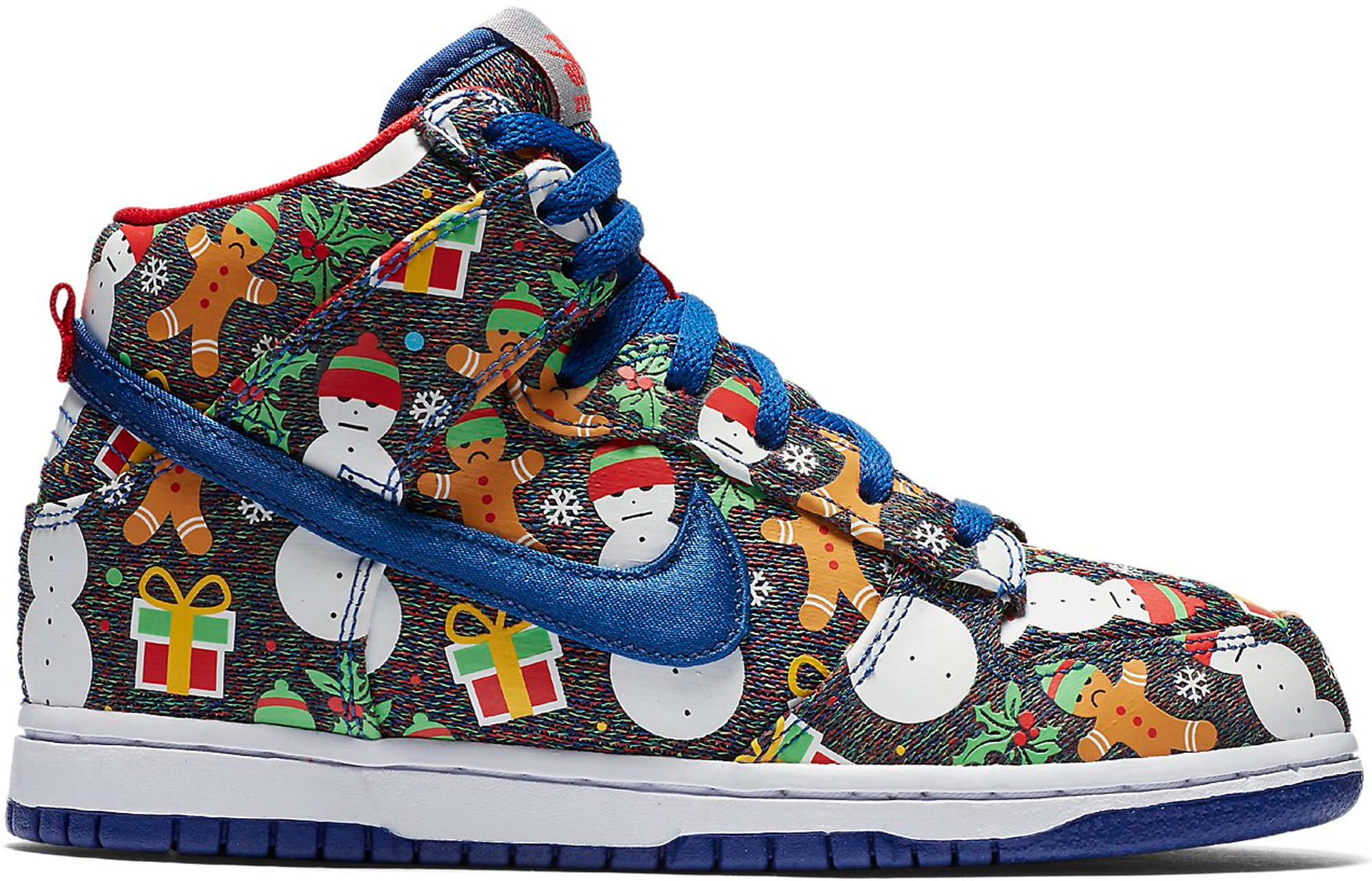 Nike SB Dunk High Concepts Ugly Christmas Sweater 2017 (PS)