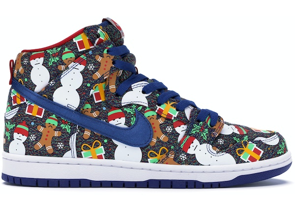 huge discount 81d0d 9eade Nike SB Dunk High Concepts Ugly Christmas Sweater (2017) - 881758-446
