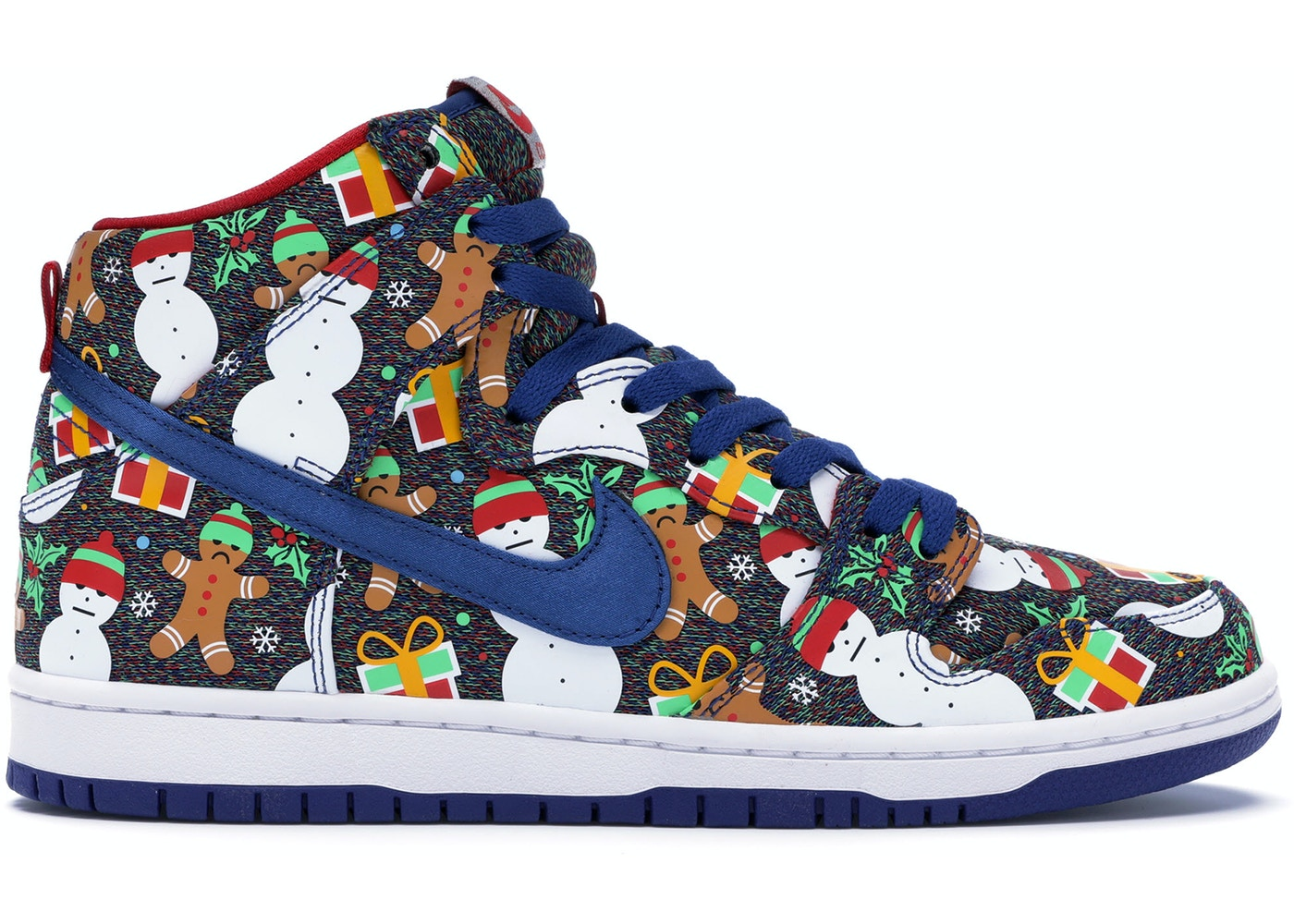 huge discount 27878 784f3 Nike SB Dunk High Concepts Ugly Christmas Sweater (2017) - 881758-446