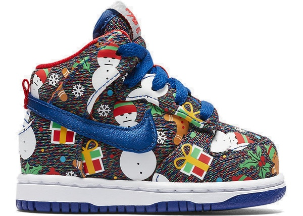 finest selection 0012c 5a7dd Nike SB Dunk High Concepts Ugly Christmas Sweater 2017 (TD)