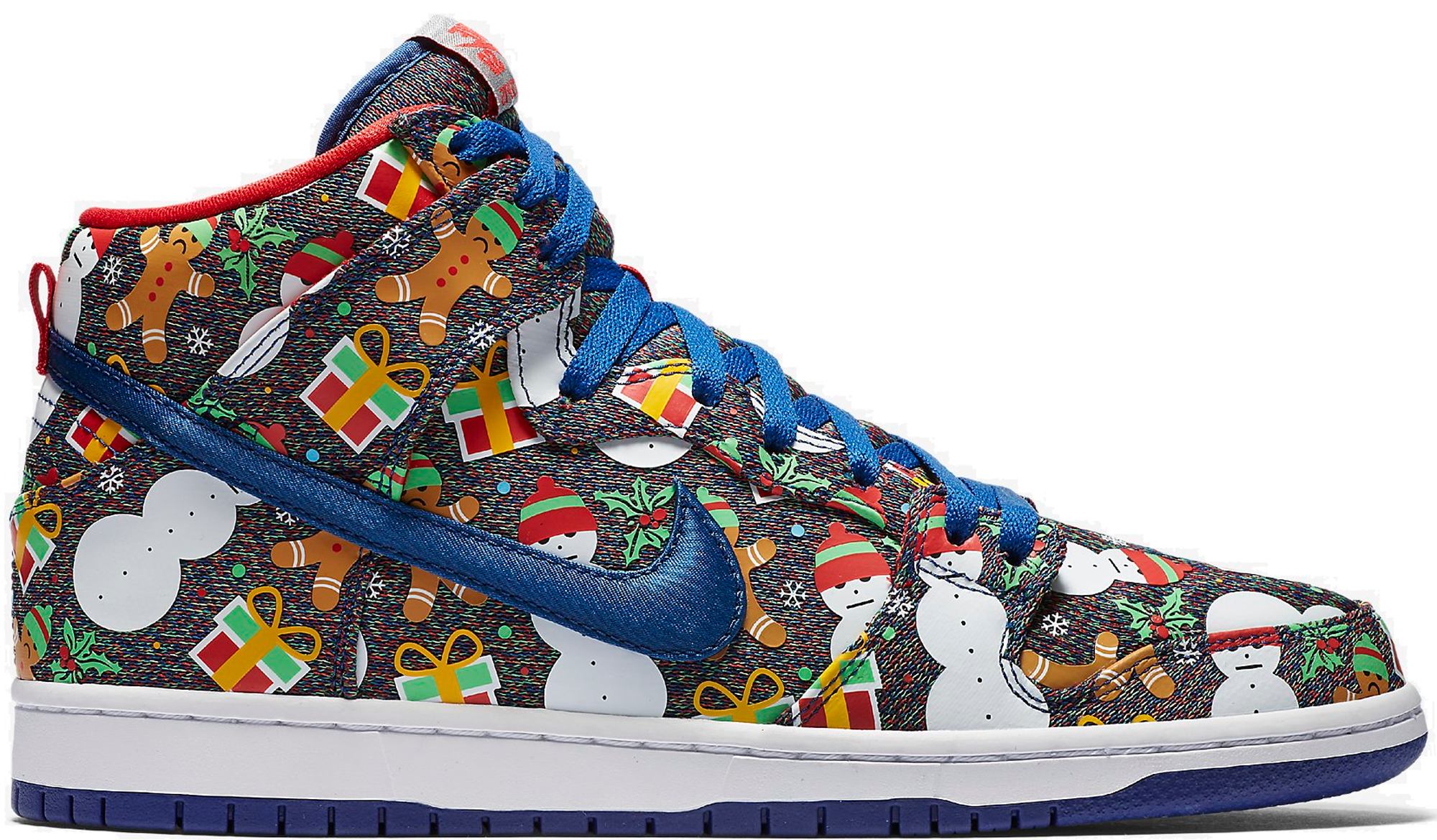Nike SB Dunk High Concepts Ugly Christmas Sweater (2017)