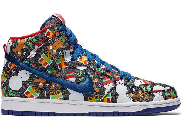 hot sale online 0f4ec e2028 Nike SB Dunk High Concepts Ugly Christmas Sweater (2017) (Special Box)