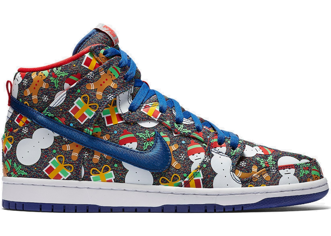 buy popular f5c45 2958f Nike SB Dunk High Concepts Ugly Christmas Sweater (2017) (Special ...