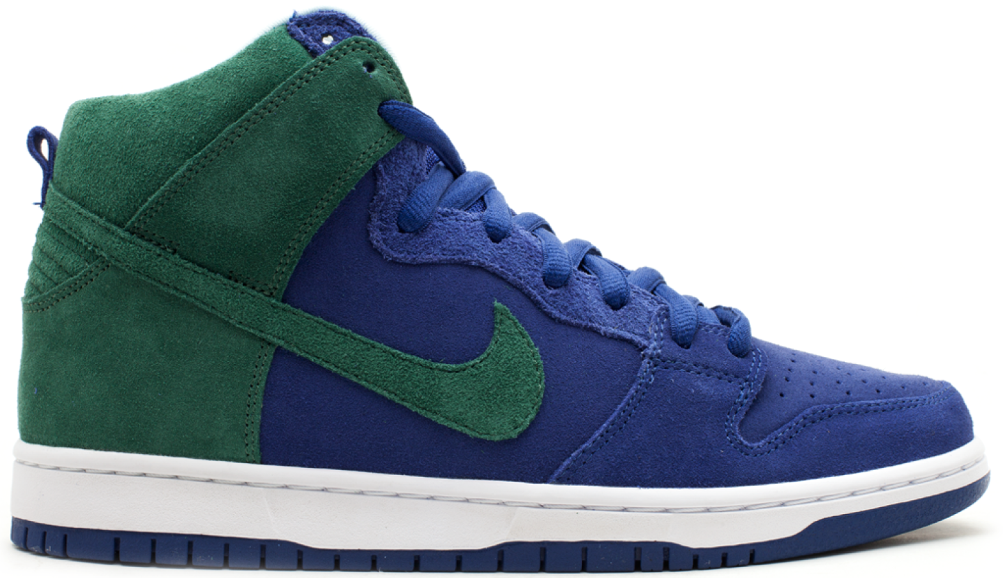 Nike SB Dunk High Deep Royal Noble Green