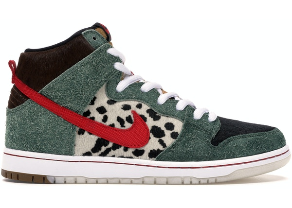 new style a5771 367b3 Nike SB Dunk High Dog Walker - BQ6827-300