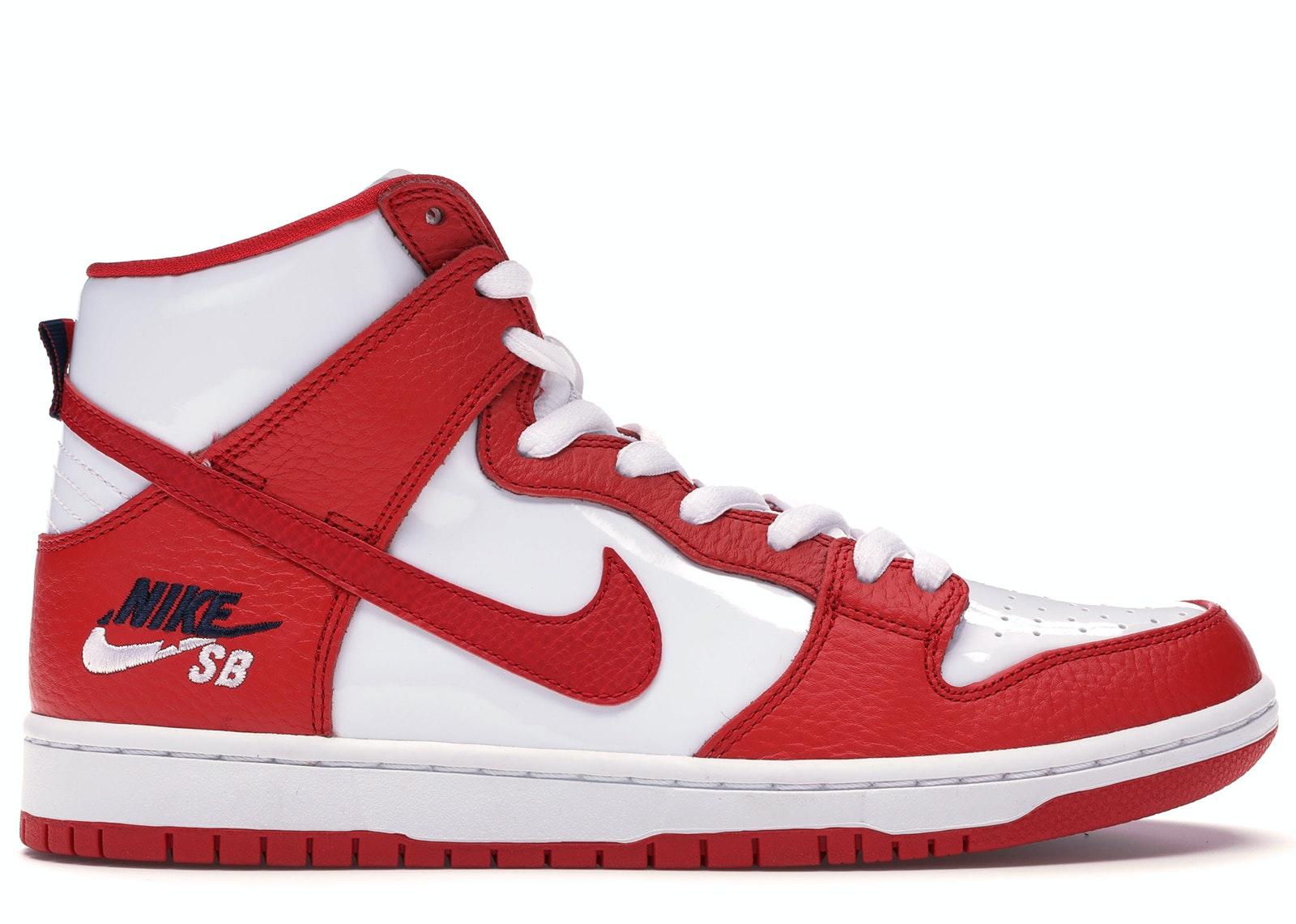 Nike SB Dunk High Future Court Red