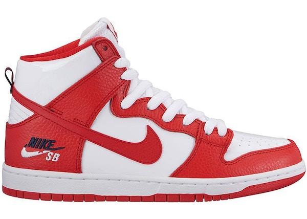 the latest 34ad9 9e56a Nike SB Dunk High Future Court Red