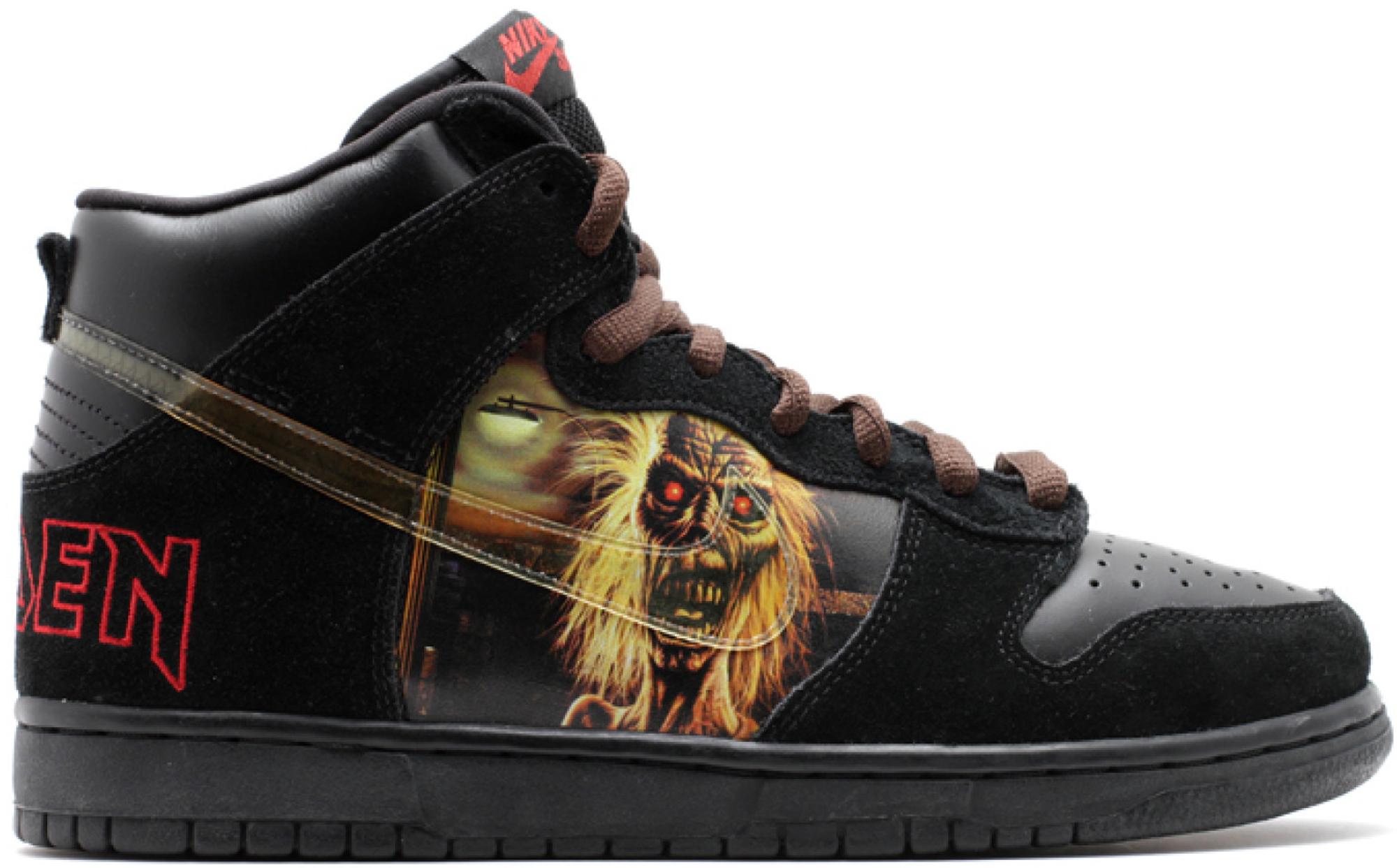 Nike SB Dunk High Iron Maiden - Sneaker