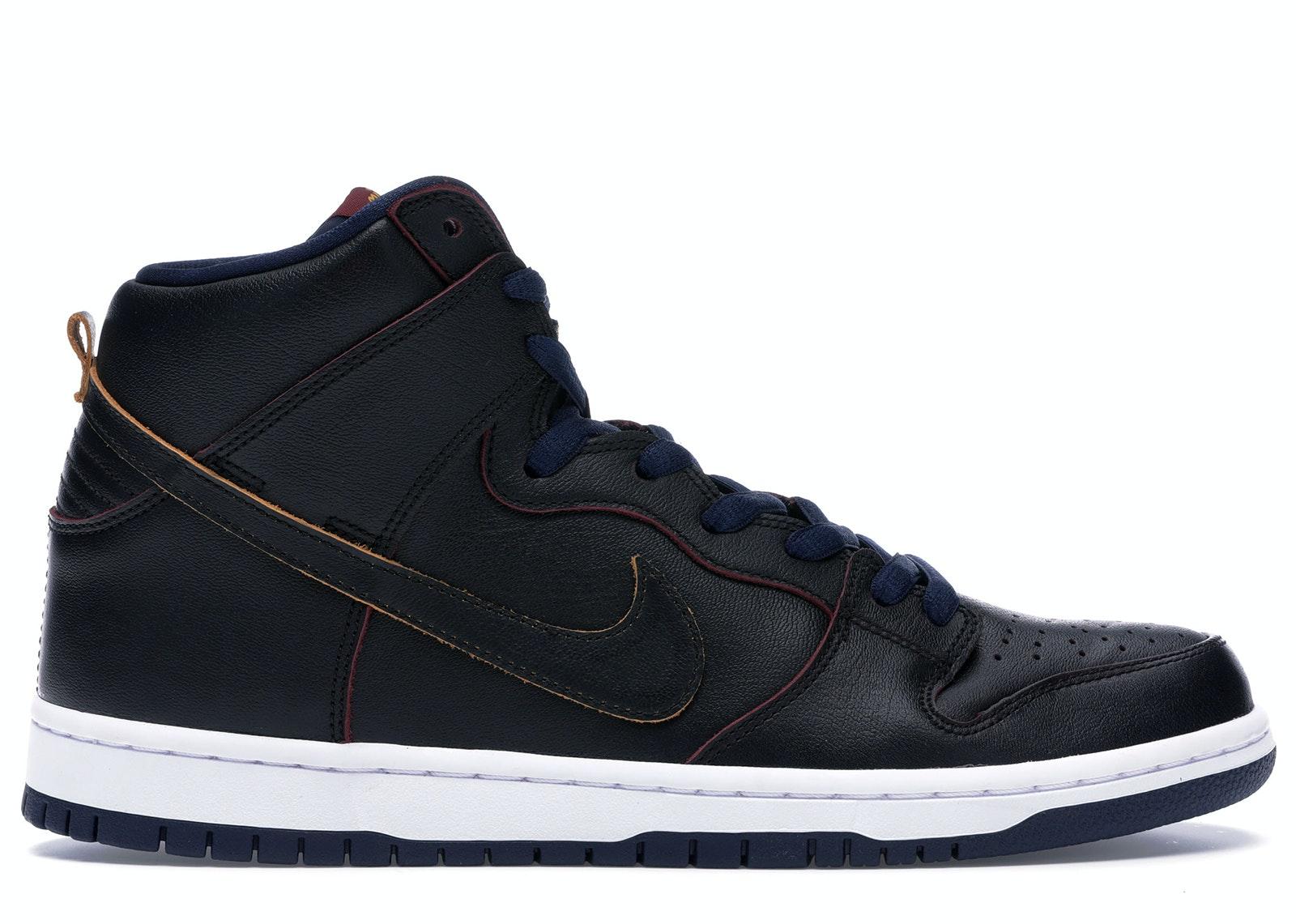 Nike SB Dunk High NBA Cavs